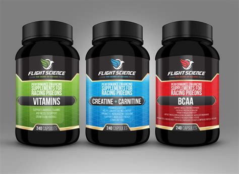healthy food  dietary supplement packaging design