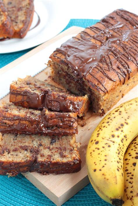 recette dessert banane chocolat cake banane chocolat recette illustr 233 e simple et facile