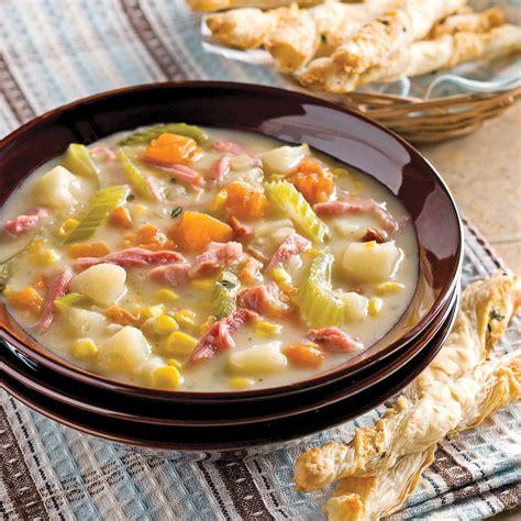 cuisine automne chaudrée d 39 automne recettes cuisine et nutrition