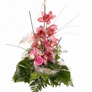 Blumenstrauss Orchidee Rosa Traum Orchideenversand
