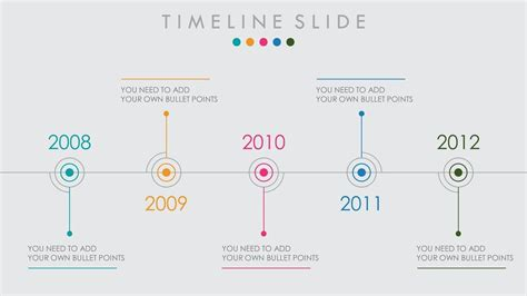 animated powerpoint timeline  design tutorial