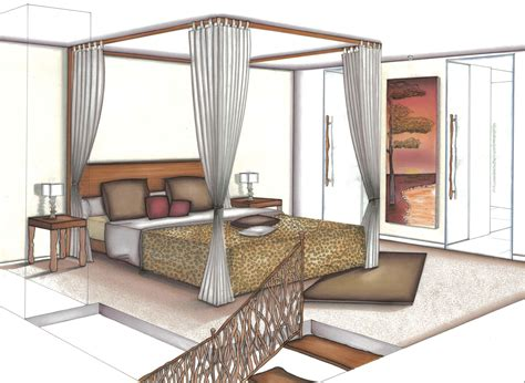 chambre en perspective dessin awesome chambre en perspective contemporary