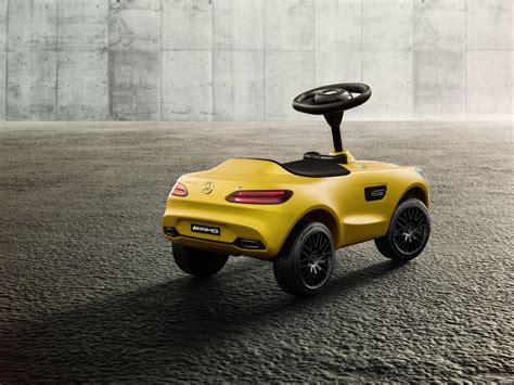 bobby car mercedes amg mercedes amg gt shrinks to kid size as new bobby car