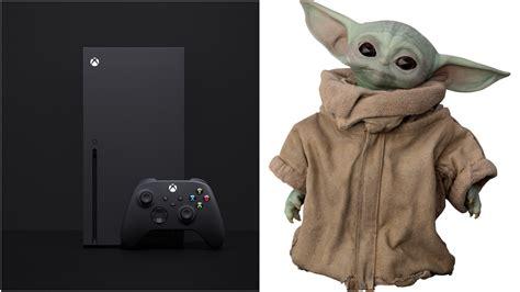 Xbox Series X Vs Baby Yoda Size Comparison Will Make You