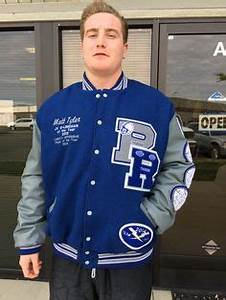pin by mike doyle on rocklin high school thunder varsity With high school varsity letters