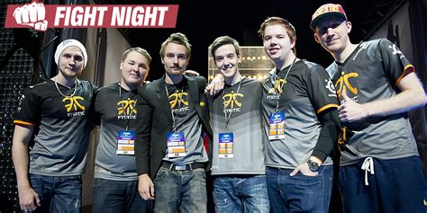 fnatic wins fight night    face envyus