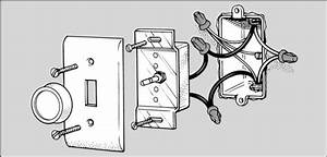 How To Replace A Light Switch With A Dimmer