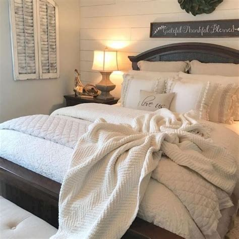 country chic master bedroom ideas rustic farmhouse style master bedroom ideas 35