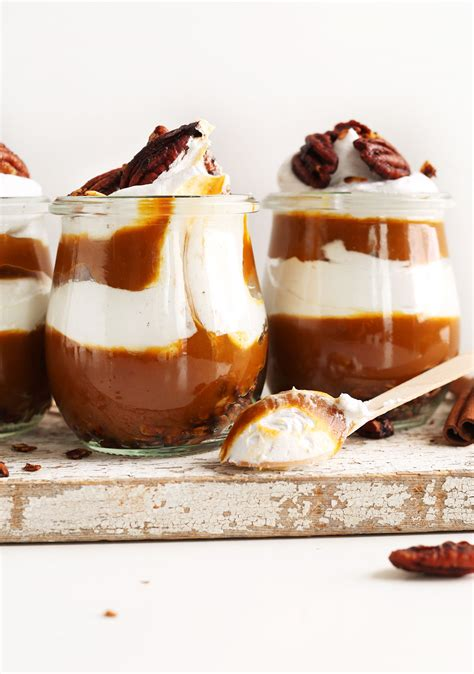 pumpkin pie parfaits minimalist baker recipes