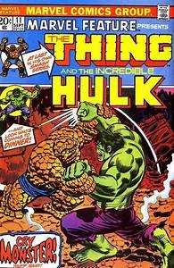 Thing, Vs, Hulk