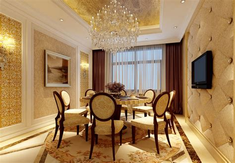 20 Luxury Dining Room With Gold Details