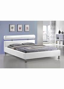 Lit Ikea 2 Personnes : lit design deux personnes en simili cuir blanc ~ Teatrodelosmanantiales.com Idées de Décoration