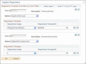 setting up the online registration system With distributor profile template