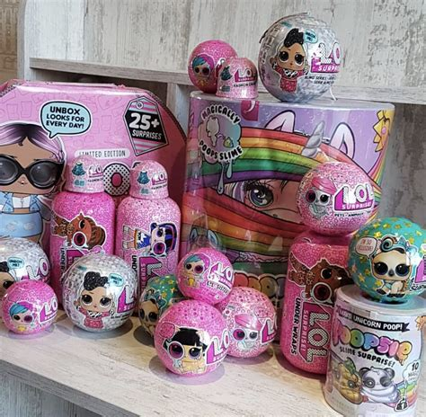 christmas gifts lol surprise dolls poopsie unicorn