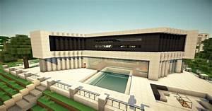 Ultra Modern Mansion WOK Server Minecraft Project