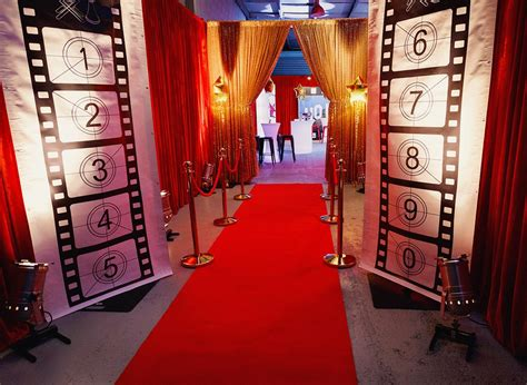 Hollywood Theme Party Equipment Hire