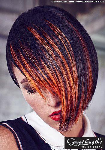 bob frisuren mit roten strahnen frisuren modrn