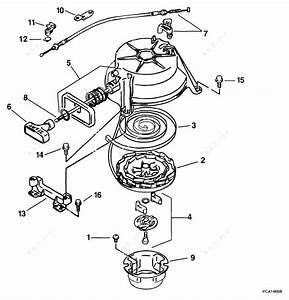 Johnson 1999 5 - J5rleec  Rewind Starter