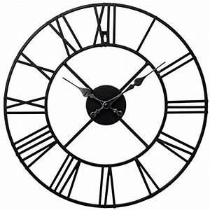 Wanduhr 40 Cm Durchmesser : wanduhr metall durchmesser 40cm wanduhr schwarz ~ Bigdaddyawards.com Haus und Dekorationen