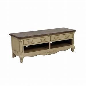 Meuble Tv Beige : meuble tv 2 tiroirs beige interior 39 s ~ Teatrodelosmanantiales.com Idées de Décoration