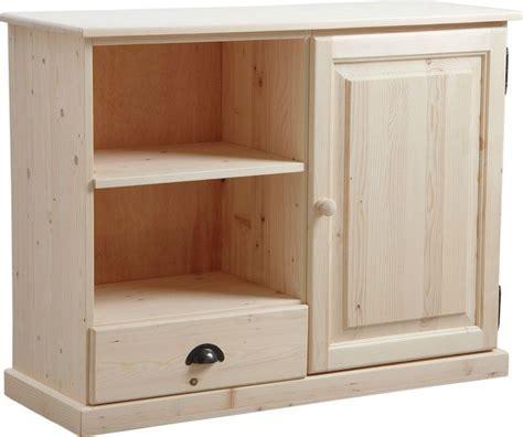 meubles cuisine bois brut meuble tv en bois brut
