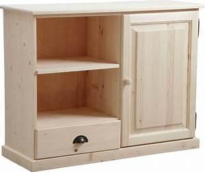 bibliotheque bois brut With meuble miniature en bois