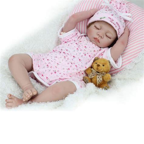 Reborn Baby Doll Lifelike Soft Vinyl Real Looking Newborn