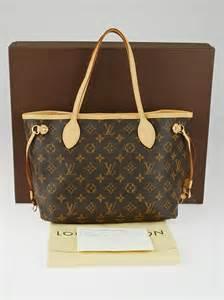 louis vuitton monogram canvas neverfull pm bag handbags