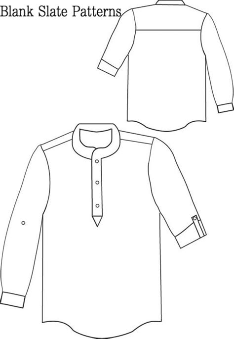 Blank Slate Prepster Pullover Child's shirt Downloadable