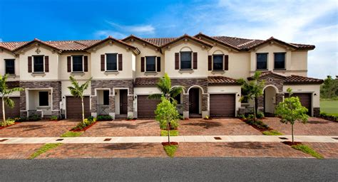 Town House : Townhomes New Home Community-miami, Florida