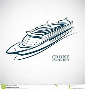 Cruise ship stock vector. Image of boat, luxury, travel ...