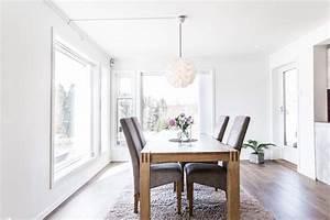 Salle A Manger Moderne : grande table manger bois massif deco accueil design et mobilier ~ Teatrodelosmanantiales.com Idées de Décoration