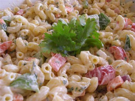 basic pasta salad recipe simple macaroni salad recipe dishmaps