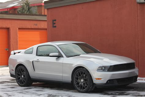 2012 Mustang Custom by Post Your 2011 2012 Custom Mustang Rims Here Ford