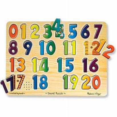 Numbers Block Yellow Clipart Puzzle Melissa Doug