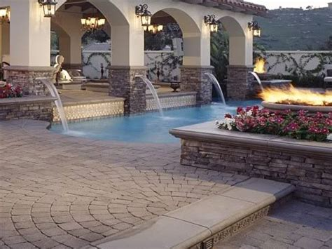 and stucco patio cover backyard inspiration