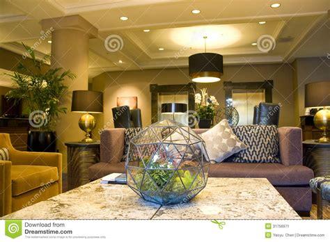 modern luxury cozy hotel lobby stock image image