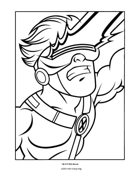 colormecrazyorg super hero squad coloring pages