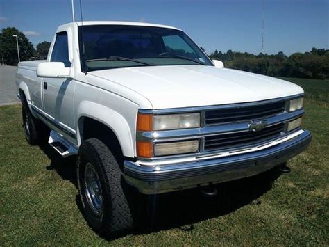 Buy Used 98' Chevy Silverado 2500 4x4*rare*low Miles*super