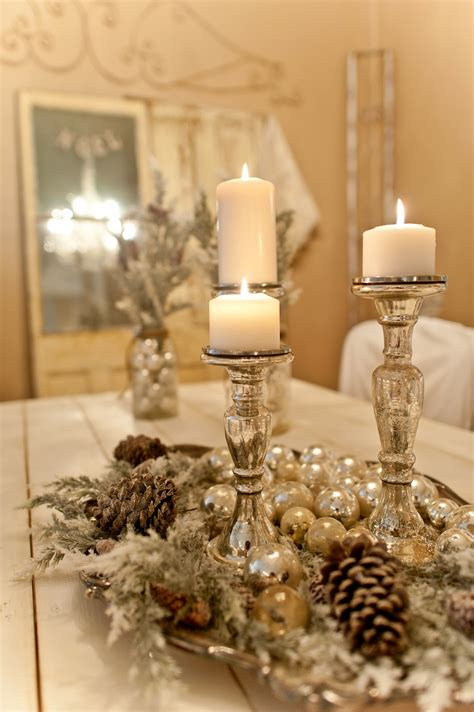 candles for christmas table 50 best diy christmas table decoration ideas for 2017