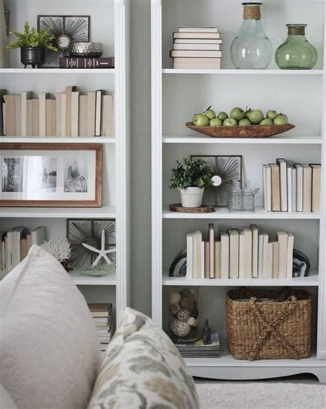 Decorating Ideas Bookshelves by Creative Bookshelf Styling And Layering Tricks Shelf