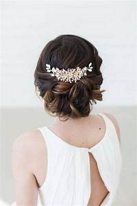Peigne Cheveux Mariage : accessoire cheveux mariage 35 mod les de bijoux pour coiffure mari e ~ Preciouscoupons.com Idées de Décoration
