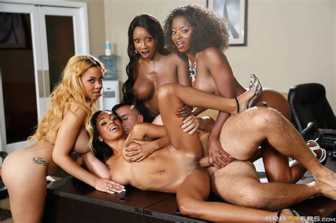 Official Office 4 Play Vii Ebony Babes Video With Anya