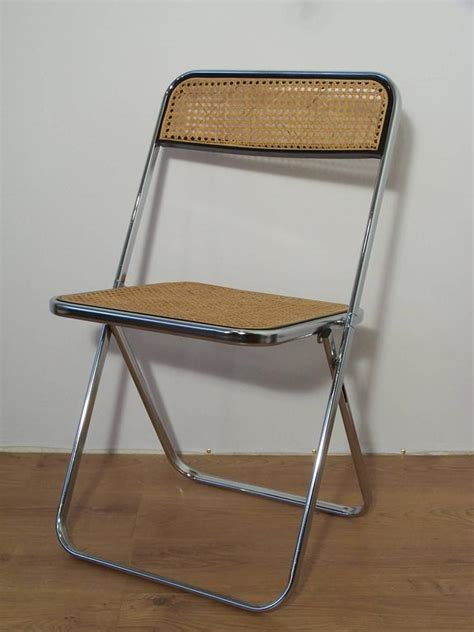 chaise castelli castelli style chrome folding chair and at 1stdibs