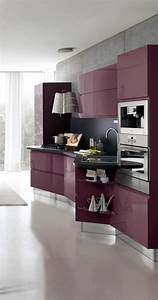 23 inspirational purple interior designs you must see With kitchen cabinets lowes with modern purple wall art
