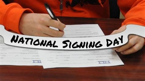 national letter of intent signing day 6 rocks sign national letter of intent westfield high