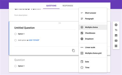 google forms guide      great