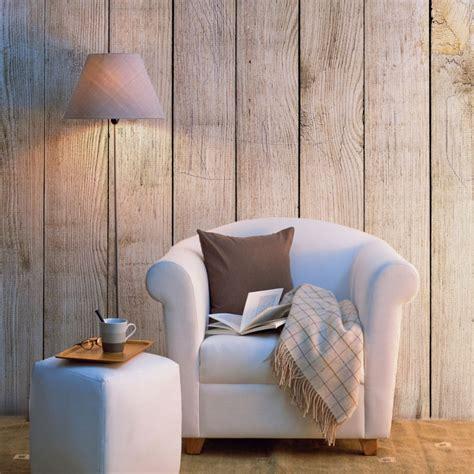 papier peint bois vieilli