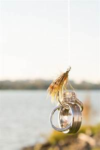 fly fishing hook wedding ring shot picture ideas With fishing wedding ring