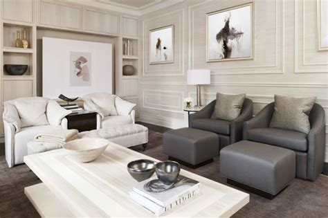 Sophisticated Second Home by A Forgettable Family Room Gets A Sophisticated Second